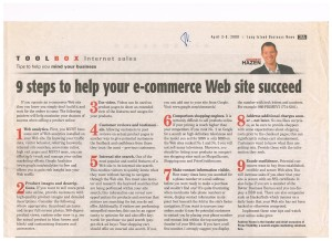 LIBN 9 Steps to Help Your E-Commerce Web Site Succeed 001